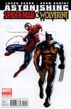 Cover for Astonishing Spider-Man & Wolverine (Marvel, 2010 series) #1 [Second Printing]