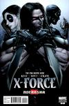 Cover for X-Force (Marvel, 2008 series) #24 [Cover B - Variant Cover]