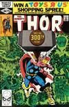 Cover for Thor (Marvel, 1966 series) #300 [Direct]