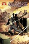 Cover for Battlestar Galactica: Season Zero (Dynamite Entertainment, 2007 series) #5 [Jackson Herbert Cover]