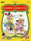Cover for Langbein album (Hjemmet / Egmont, 1977 series) #4 - Langbein og Marco Polo