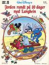 Cover for Langbein album (Hjemmet / Egmont, 1977 series) #13 - Jorden rundt på 80 dager med Langbein