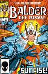 Cover for Balder the Brave (Marvel, 1985 series) #4 [Direct Edition]