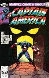 Cover for Captain America (Marvel, 1968 series) #256 [Direct Edition]