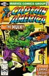 Cover for Captain America (Marvel, 1968 series) #257 [Direct]