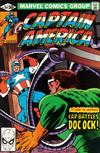 Cover for Captain America (Marvel, 1968 series) #259 [Direct]