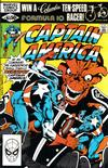 Cover for Captain America (Marvel, 1968 series) #263 [Direct Edition]