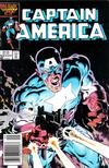 Cover for Captain America (Marvel, 1968 series) #321 [Newsstand Edition]
