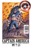 Cover Thumbnail for Captain America (2002 series) #1 [Newsstand]