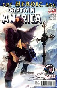 Cover Thumbnail for Captain America (Marvel, 2005 series) #608