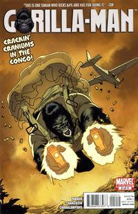 Cover Thumbnail for Gorilla Man (Marvel, 2010 series) #2