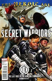 Cover Thumbnail for Secret Warriors (Marvel, 2009 series) #18