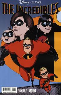 Cover Thumbnail for The Incredibles (Boom! Studios, 2009 series) #12 [Cover A]