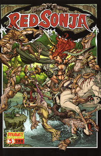 Cover Thumbnail for Red Sonja (Dynamite Entertainment, 2005 series) #5 [Nick Bradshaw Cover]