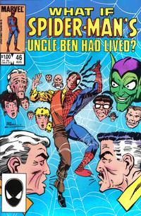 Cover Thumbnail for What If? (Marvel, 1977 series) #46 [Direct Edition]