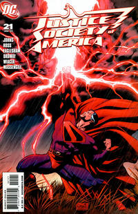 Cover Thumbnail for Justice Society of America (DC, 2007 series) #21 [Dale Eaglesham Cover]