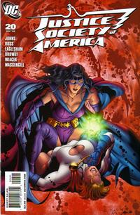 Cover Thumbnail for Justice Society of America (DC, 2007 series) #20 [Dale Eaglesham / Mark McKenna Cover]