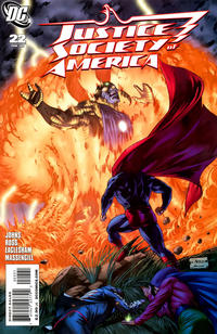 Cover Thumbnail for Justice Society of America (DC, 2007 series) #22 [Dale Eaglesham Cover]