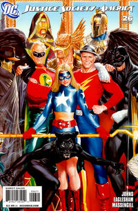 Cover Thumbnail for Justice Society of America (DC, 2007 series) #26 [Middle of Triptych]