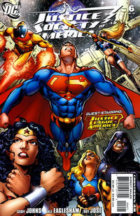 Cover Thumbnail for Justice Society of America (DC, 2007 series) #6 [Incentive Cover Edition]