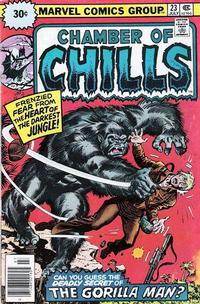 Cover Thumbnail for Chamber of Chills (Marvel, 1972 series) #23 [30 cent cover price variant]