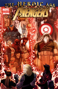Cover Thumbnail for Avengers (Marvel, 2010 series) #2 [2nd Printing Variant]