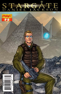 Cover Thumbnail for Stargate: Daniel Jackson (Dynamite Entertainment, 2010 series) #2