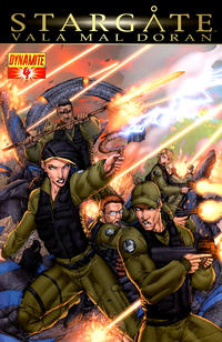 Cover Thumbnail for Stargate: Vala Mal Doran (Dynamite Entertainment, 2010 series) #4