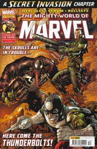 Cover Thumbnail for The Mighty World of Marvel (Panini UK, 2009 series) #12