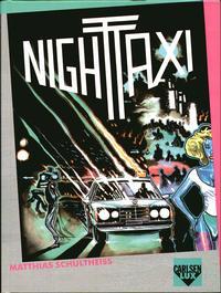 Cover Thumbnail for Carlsen Lux (Carlsen Comics [DE], 1990 series) #1 - Night Taxi