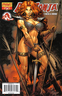 Cover Thumbnail for Red Sonja (Dynamite Entertainment, 2005 series) #25 [Art Adams Cover]