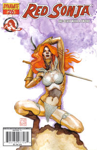Cover Thumbnail for Red Sonja (Dynamite Entertainment, 2005 series) #26 [David Mack Cover]