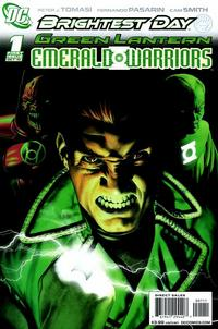 Cover Thumbnail for Green Lantern: Emerald Warriors (DC, 2010 series) #1