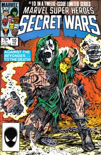 Cover Thumbnail for Marvel Super-Heroes Secret Wars (Marvel, 1984 series) #10 [Direct]