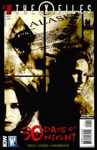 Cover Thumbnail for The X-Files / 30 Days of Night (DC, 2010 series) #1 [Andrea Sorrentino Cover Variant]