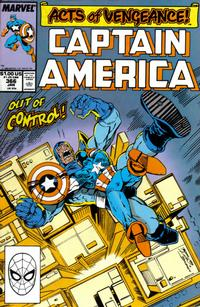 Cover Thumbnail for Captain America (Marvel, 1968 series) #366 [Direct Edition]