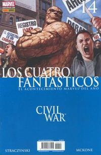 Cover Thumbnail for Los 4 Fantásticos (Panini España, 2006 series) #14