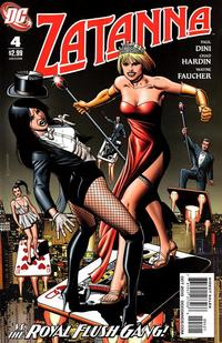 Cover Thumbnail for Zatanna (DC, 2010 series) #4 [Brian Bolland Variant Cover]