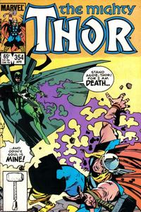 Cover Thumbnail for Thor (Marvel, 1966 series) #354 [Direct]