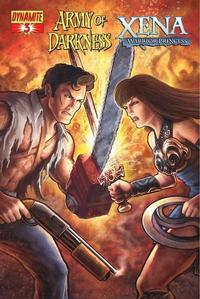 Cover Thumbnail for Army of Darkness / Xena (Dynamite Entertainment, 2008 series) #3 [Udon Studios Cover]