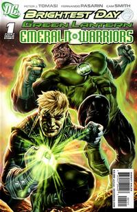 Cover Thumbnail for Green Lantern: Emerald Warriors (DC, 2010 series) #1 [Lee Bermejo Variant Cover]