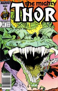 Cover Thumbnail for Thor (Marvel, 1966 series) #380 [Newsstand]