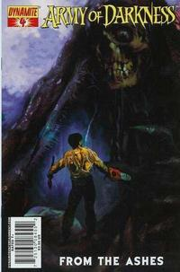 Cover Thumbnail for Army of Darkness (Dynamite Entertainment, 2007 series) #4 [Arthur Suydam Cover]