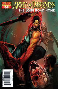 Cover Thumbnail for Army of Darkness (Dynamite Entertainment, 2007 series) #6 [Arthur Suydam Cover]