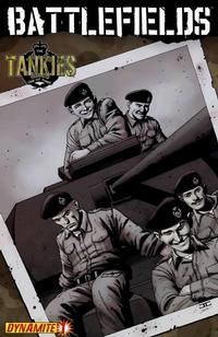 Cover for Battlefields: The Tankies (Dynamite Entertainment, 2009 series) #1 [John Cassaday Cover]