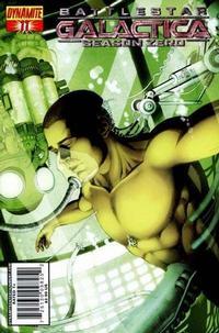 Cover Thumbnail for Battlestar Galactica: Season Zero (Dynamite Entertainment, 2007 series) #11 [Art Cover - Jackson Herbert]