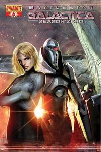 Cover Thumbnail for Battlestar Galactica: Season Zero (Dynamite Entertainment, 2007 series) #6 [Stjepan Sejic Cover]