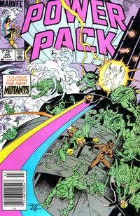 Cover Thumbnail for Power Pack (Marvel, 1984 series) #20 [Newsstand Edition]