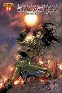 Cover Thumbnail for Battlestar Galactica: Season Zero (Dynamite Entertainment, 2007 series) #2 [Stephen Segovia Cover]