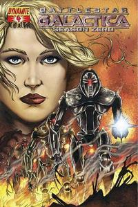 Cover Thumbnail for Battlestar Galactica: Season Zero (Dynamite Entertainment, 2007 series) #4 [Adriano Batista Cover]